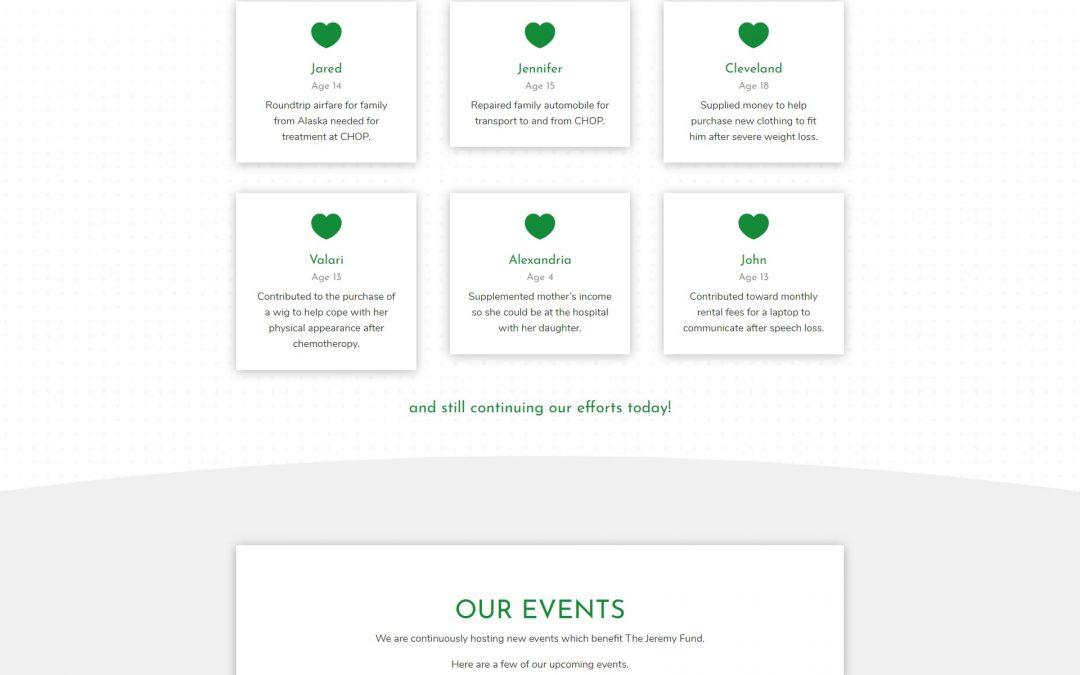 The Jeremy Fund Website